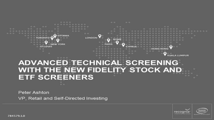 Advanced Technical Screening with the New Fidelity Stock and